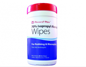 70% Isopropyl Alcohol Wipes