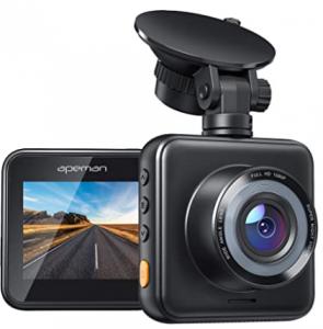 APEMAN Mini Dash Cam 1080P Full HD